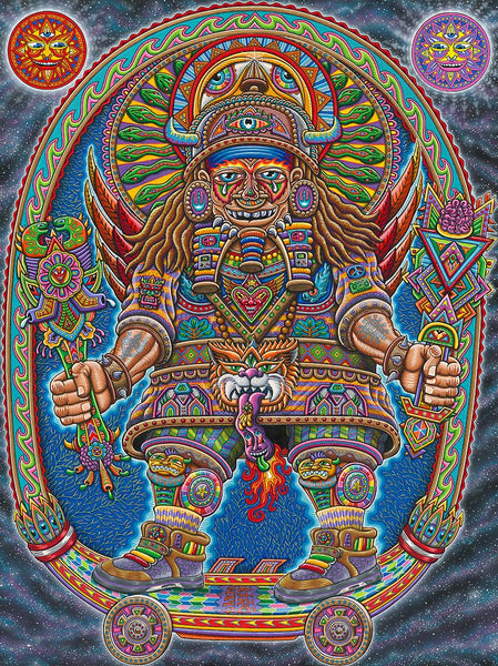 Chris Dyer The Ultimate Spirit Warrior Painting