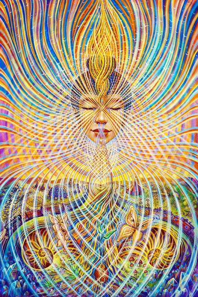 Ghost in the Machine Amanda Sage Painting