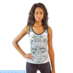 Astral Kitty Women's Racerback Tank Top