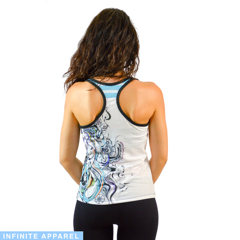 Celestial Mermaid Women's Racerback Tank Top