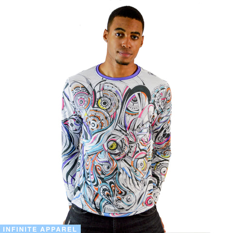 Celestial Unicorn Men's Long Sleeve Shirt