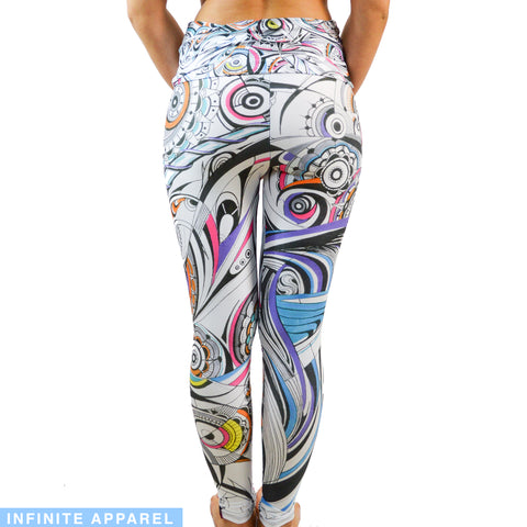 Celestial Unicorn Yoga Leggings
