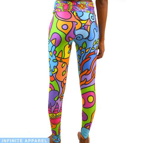 Ornament Yoga Leggings