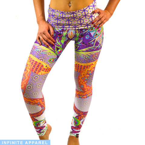 Jungle Snake Yoga Leggings