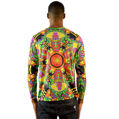 Mushroom God Men's Long-Sleeve Shirt