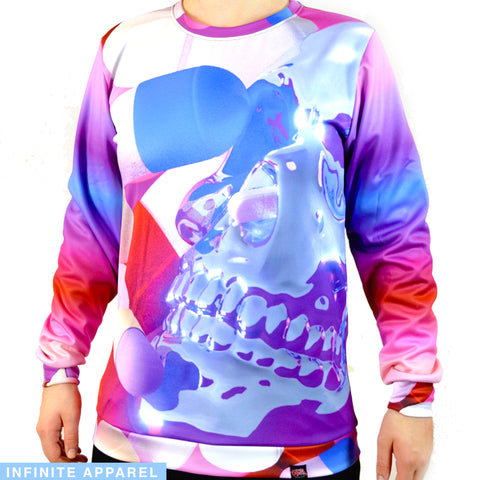 Candy Skull Sweatshirt