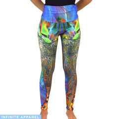 Depression & Blue Passion Yoga Leggings