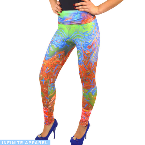 Spiky Resources Yoga Leggings