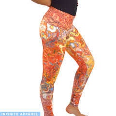 Swerving Spirit Yoga Leggings