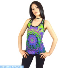 Faded Women's Racerback Tank Top