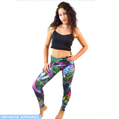 Jungle Juice Yoga Leggings