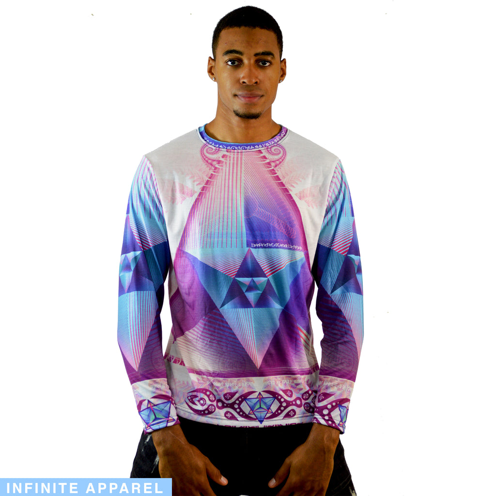 Sacred Prism Men's Long Sleeve Shirt