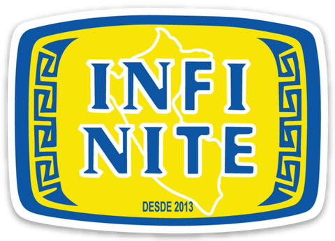 INFI Cola Vinyl Sticker