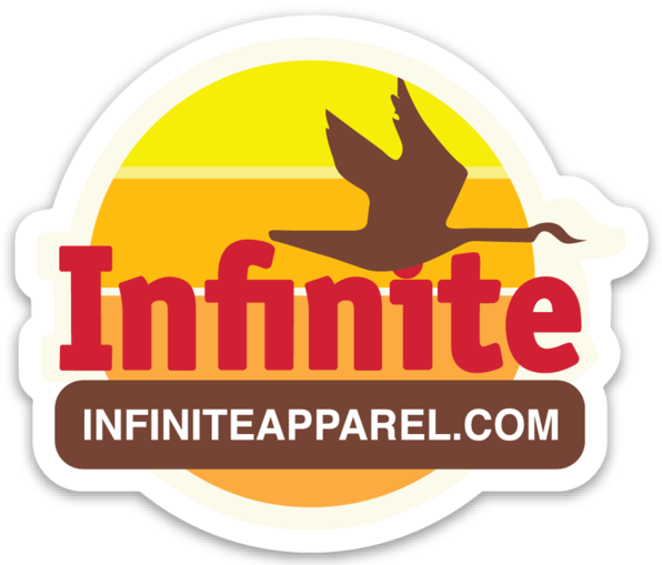 Infinite Goose Vinyl Sticker