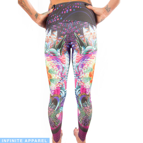 Kunio the Mischievous Yoga Leggings