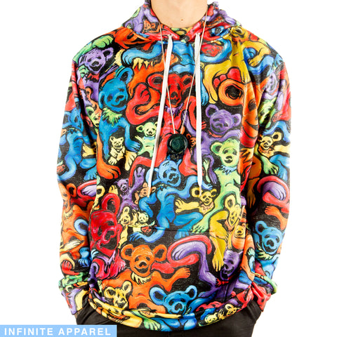 Melting Bears Pull Over Hoodie