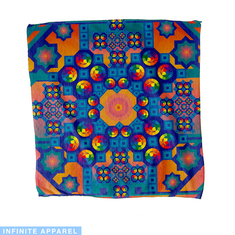 Rainbow Sunset Bandana