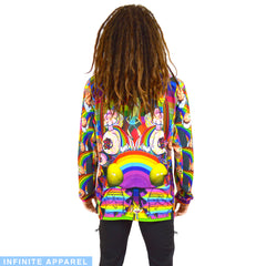 Rick & Rainbows Long-Sleeve T-Shirt
