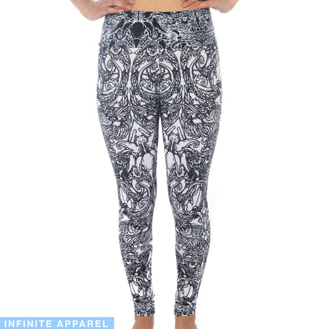 K of Spades Yoga Leggings