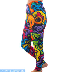 Melting Bears Yoga Leggings