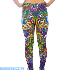 Mushies Yoga Leggings