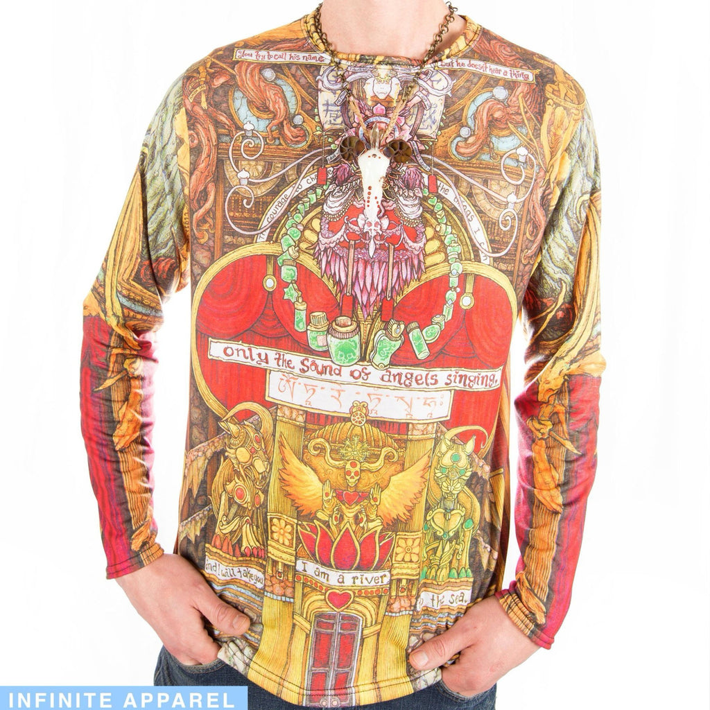 Seraphim of Sycophants Men's Long Sleeve Shirt