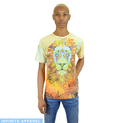 World Peace Lion Men's T-Shirt