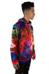 Psychedelic Fish Hoodie