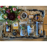 Flowers, Food and your FAV Drink GIFT Hamper