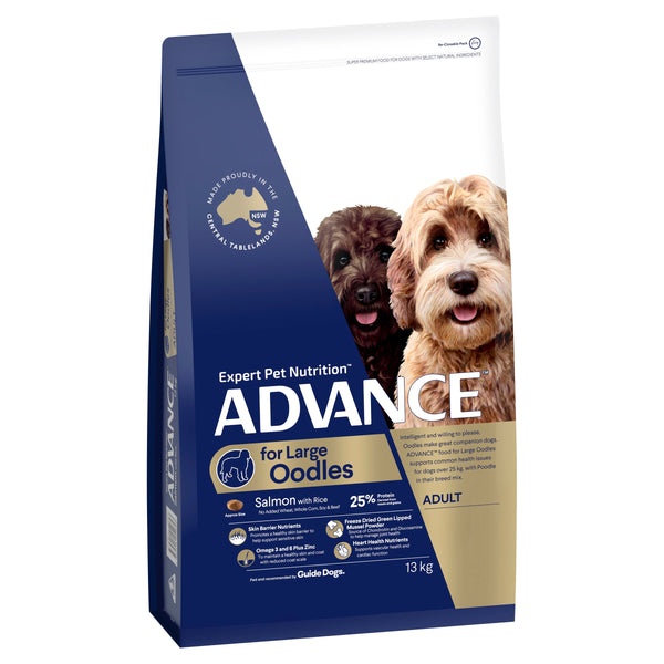 ADVANCE™ Oodles Large Breed Adult Salmon with Rice Dry Dog Food 13kg
