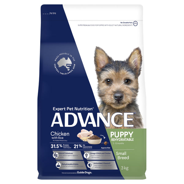 ADVANCE™ Puppy Growth Small Breed Chicken with Rice Dry Dog Food 3kg