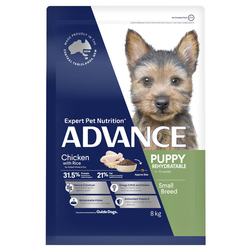 ADVANCE™ Puppy Growth Small Breed Chicken with Rice Dry Dog Food 8kg