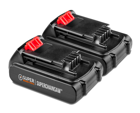 24V Li-Ion Battery For The SuperSaw - Two Pack