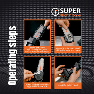 The SuperSaw - Ultra-Powerful Handheld Chainsaw