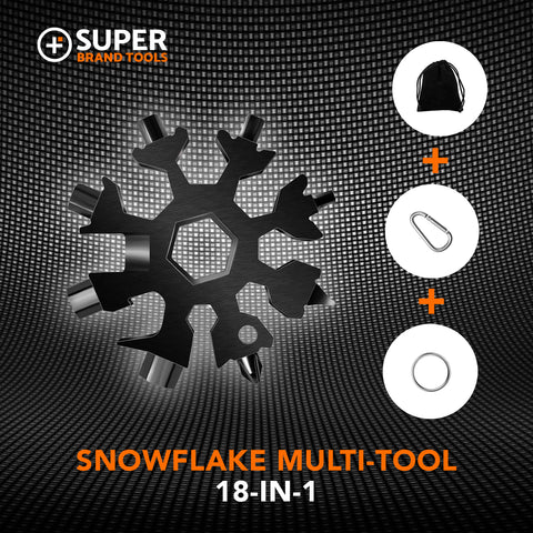 Image of Snowflake SuperTool™- 18-In-1 Tool Gift Set for Christmas