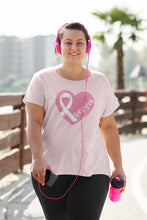 Load image into Gallery viewer, Survivor Breast Cancer Awareness Tshirt
