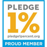 Ethical Swag is a proud member of the Pledge 1% Iniciative