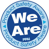 Ethical Swag is a member of the We Are Product Safety Aware PPAI