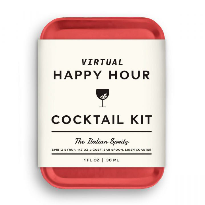 Virtual Happy Hour Italian Spritz Cocktail Kit 😀 | Ethical Swag Pack