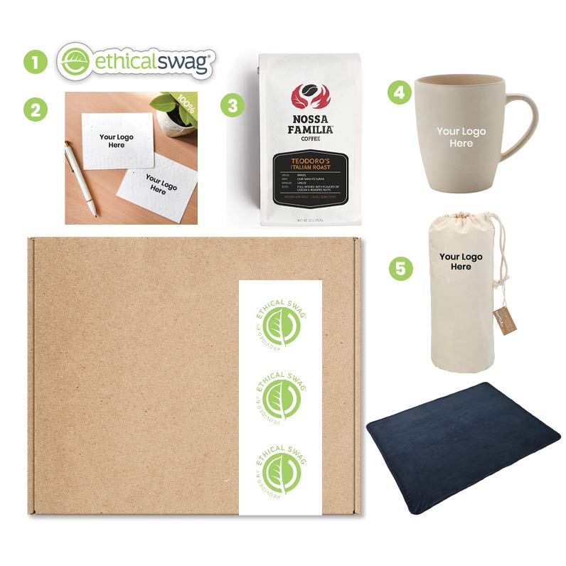 WFH Pause for Coffee Swag Pack 😀😀😀♻ Ethical Swag Pack