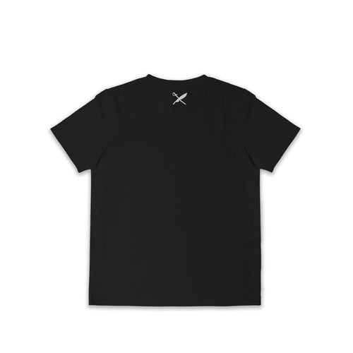 UNISEX BROWER TEE IN BLACK
