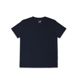 UNISEX BROWER 3 PACK TEE IN BLACK/WHITE/NAVY