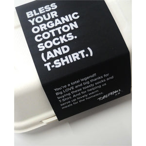 BLESS YOUR ORGANIC SOCKS GIFT BOX - MENS.