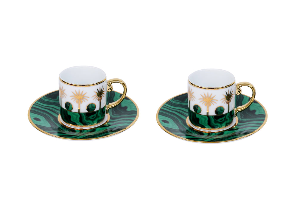 Espresso  Set Of 2 With Mini Kettle