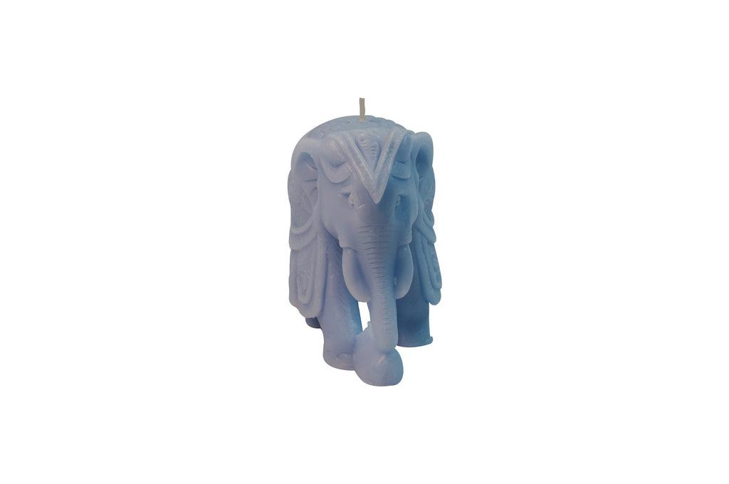 Elephant Figurine Blue 5.5