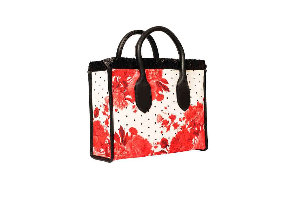 Regina Scarlet Small Tote Bag