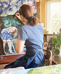 21st Century Iconography with Contemporary Painter Julia Lambright