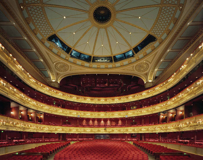 David Leventi Artwork 'Royal Opera House, Covent Garden, London- Edition of 10' | Available at fosterwhite.com