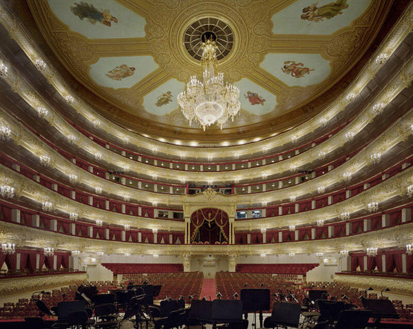 David Leventi Artwork 'Bolshoi Theatre, Moscow, Russia- Edition of 10' | Available at fosterwhite.com