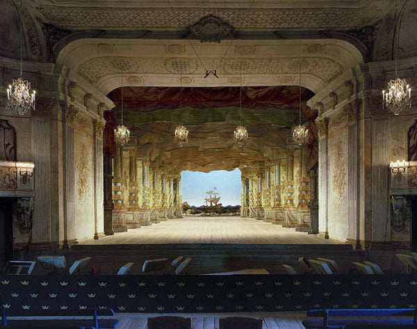 David Leventi Artwork 'Drottningholm Palace Theatre, Stockholm, Sweden- Ed. Of 10' | Available at fosterwhite.com